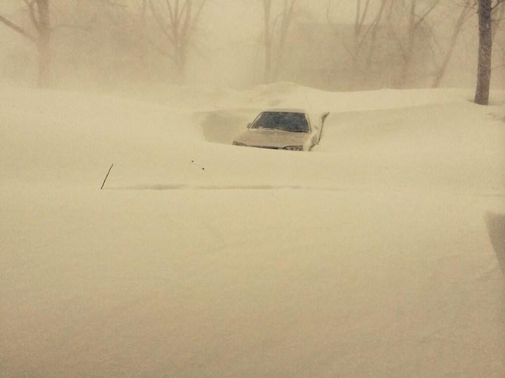 Хабаровский край засыпало снегом (7)
