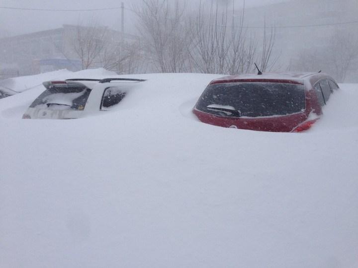 Хабаровский край засыпало снегом (6)