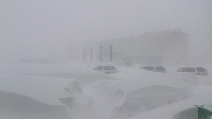 Хабаровский край засыпало снегом (5)