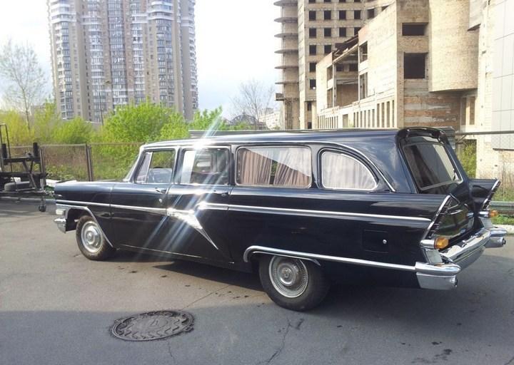 """Редчайший универсал ГАЗ-13С: """"Черная врачиха"""" (9)"""