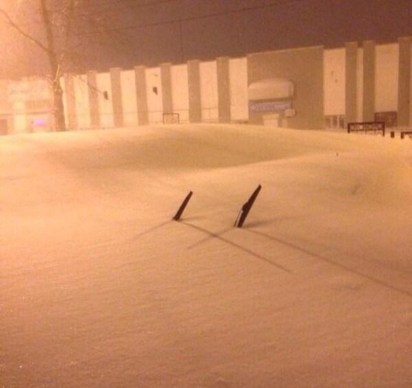 Хабаровский край засыпало снегом (4)