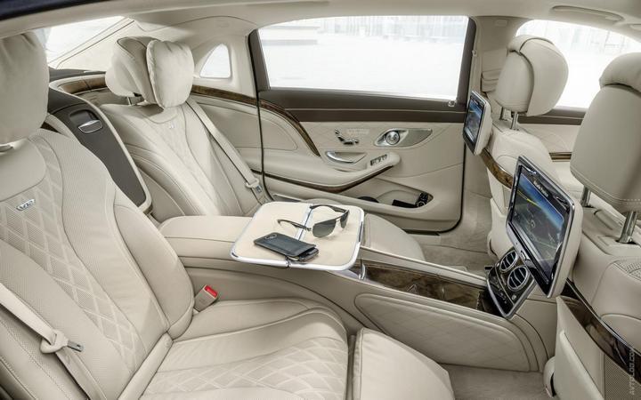 Mercedes-Maybach 2015. Сколько стоит самый тихий автомобиль в мире? (21)
