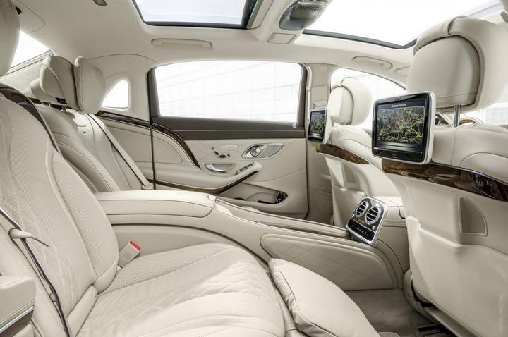 Mercedes-Maybach 2015. Сколько стоит самый тихий автомобиль в мире? (23)