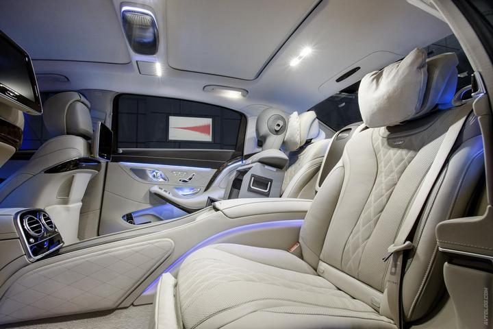 Mercedes-Maybach 2015. Сколько стоит самый тихий автомобиль в мире? (24)