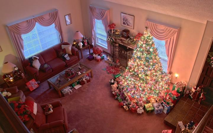 Украшение квартиры к новогодним праздникам (1)