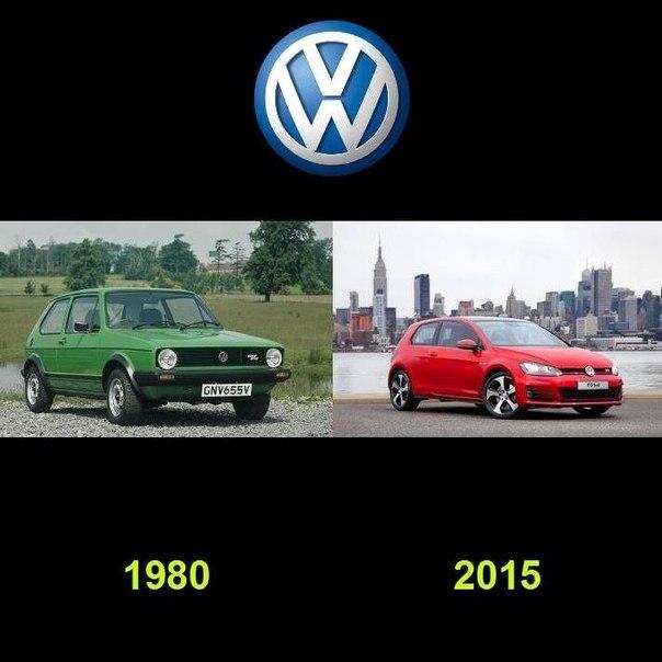 Как видоизменялись автомобили с течением времени (10)