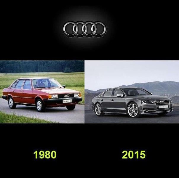Как видоизменялись автомобили с течением времени (7)