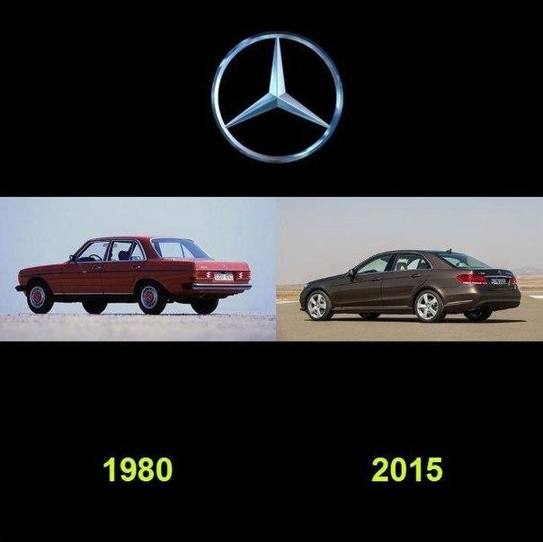 Как видоизменялись автомобили с течением времени (6)
