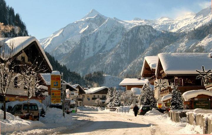 Зимняя сказка или Австрийский горнолыжный курорт Капрун (6)