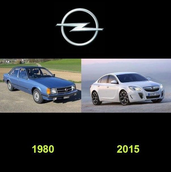 Как видоизменялись автомобили с течением времени (3)
