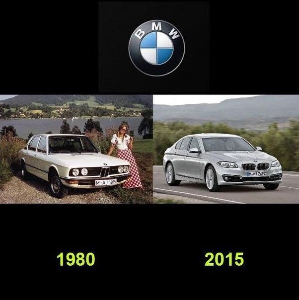 Как видоизменялись автомобили с течением времени (8)