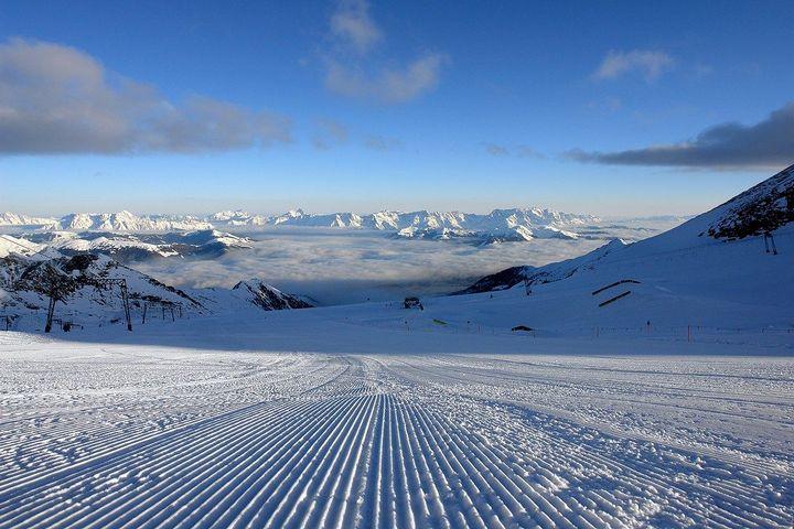 Зимняя сказка или Австрийский горнолыжный курорт Капрун (1)