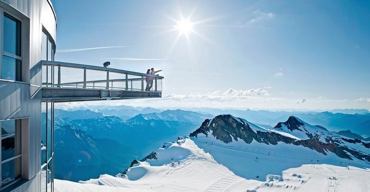 Зимняя сказка или Австрийский горнолыжный курорт Капрун (4)