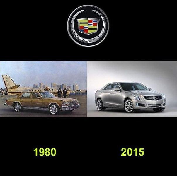 Как видоизменялись автомобили с течением времени (2)