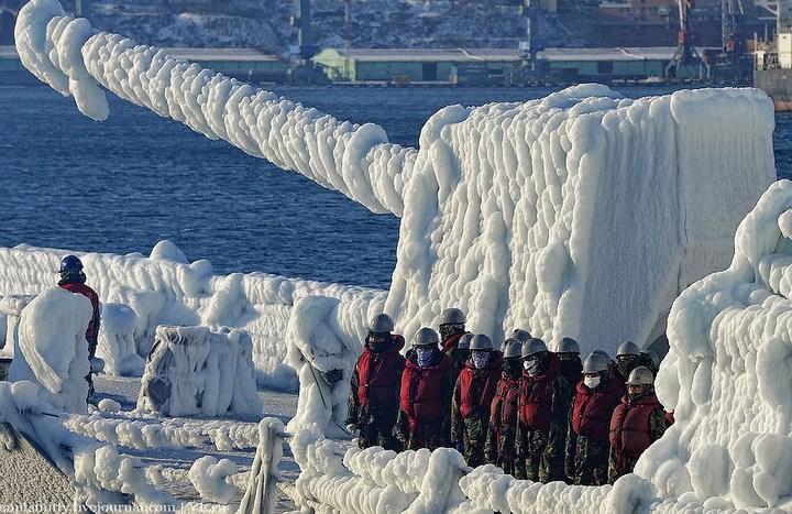Визит корейского эсминца во Владивосток (1)