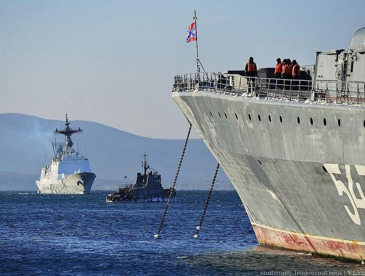 Визит корейского эсминца во Владивосток (2)