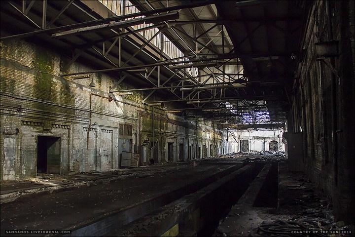Заброшенный Киевский завод Электротранспорта (3)