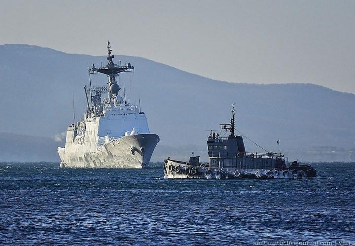Визит корейского эсминца во Владивосток (3)