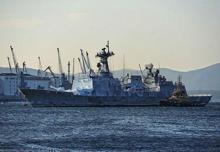 Визит корейского эсминца во Владивосток (4)