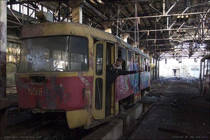 Заброшенный Киевский завод Электротранспорта (5)