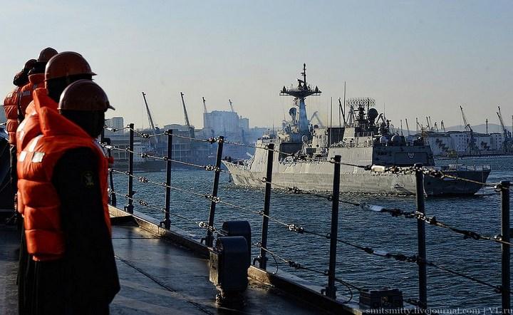 Визит корейского эсминца во Владивосток (5)