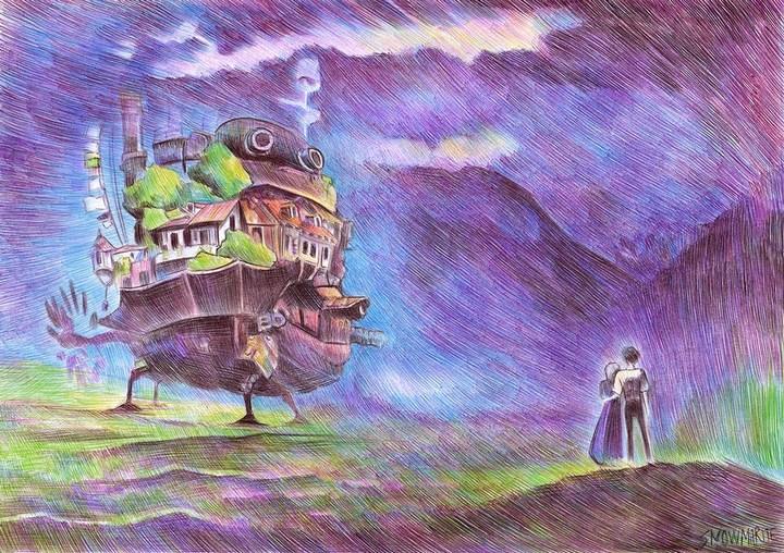 Удивительные рисунки шариковой ручкой от Марите Десайне... (10 фото) (5)