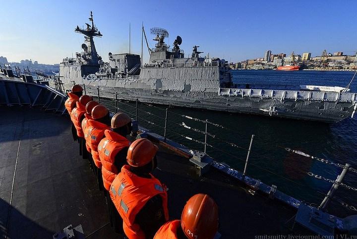 Визит корейского эсминца во Владивосток (7)