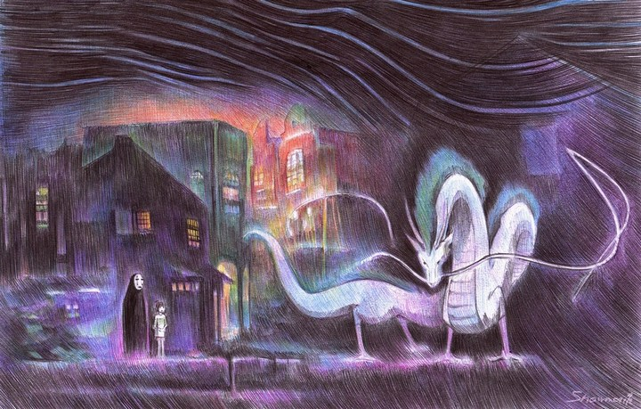 Удивительные рисунки шариковой ручкой от Марите Десайне... (10 фото) (3)