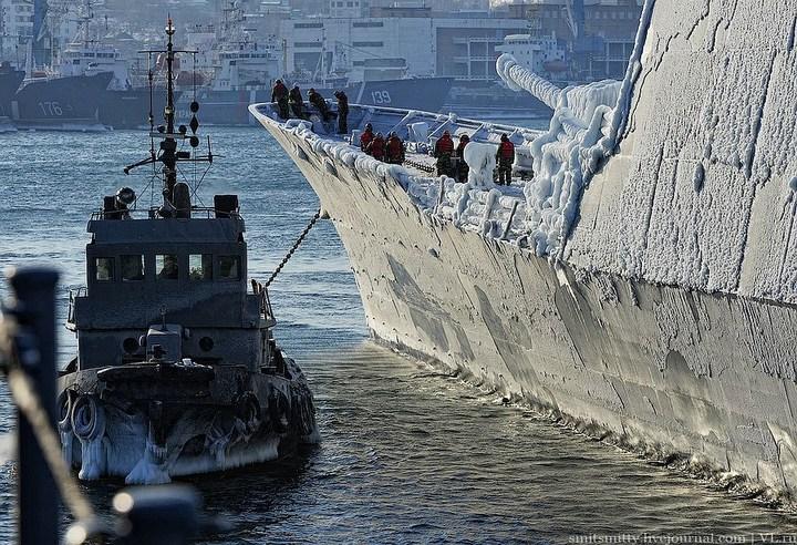 Визит корейского эсминца во Владивосток (8)