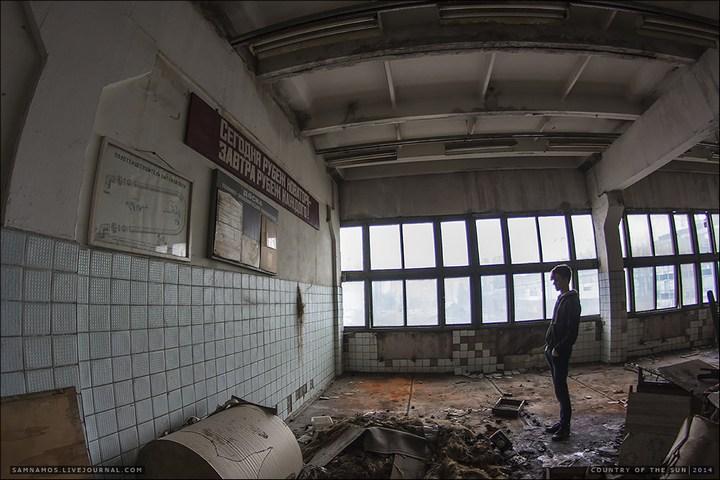 Заброшенный Киевский завод Электротранспорта (9)
