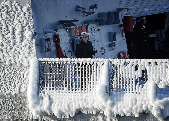 Визит корейского эсминца во Владивосток (10)
