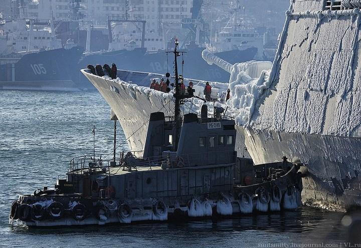 Визит корейского эсминца во Владивосток (12)