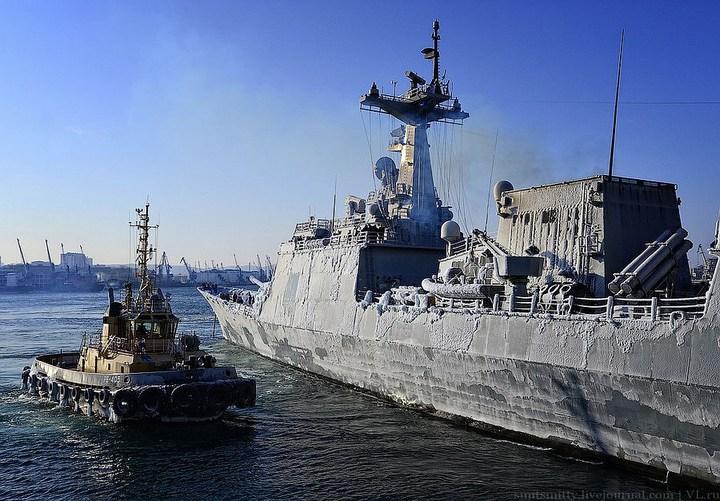 Визит корейского эсминца во Владивосток (13)