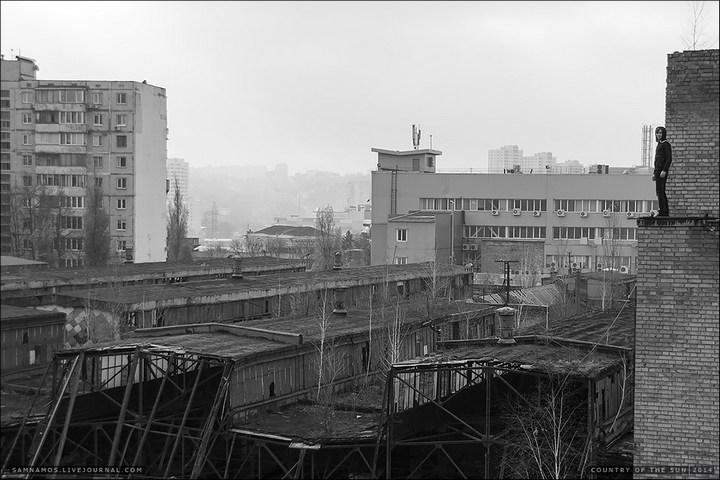 Заброшенный Киевский завод Электротранспорта (15)