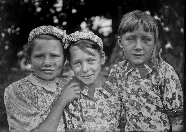 Лица советской эпохи. Дети... (20)