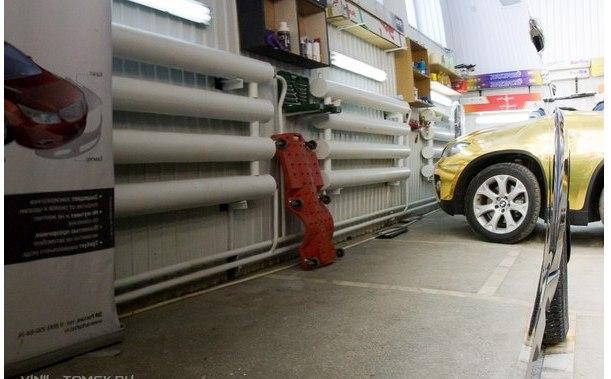 Вот что значит качественная полировка автомобиля...