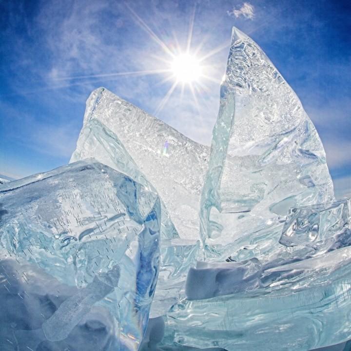 Замерзшее озеро Байкал (18)
