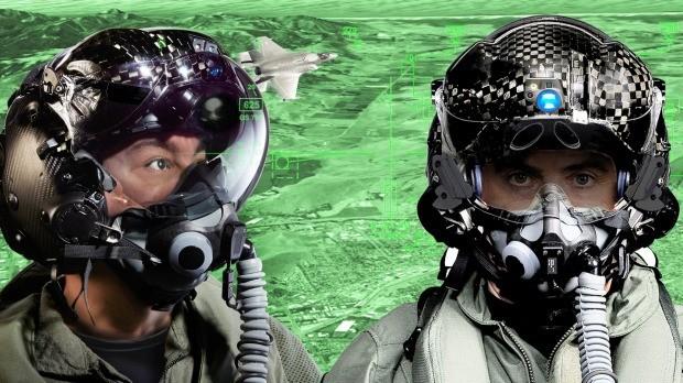 Шлем истребителя F-35 стоимостью $600 000 (1)