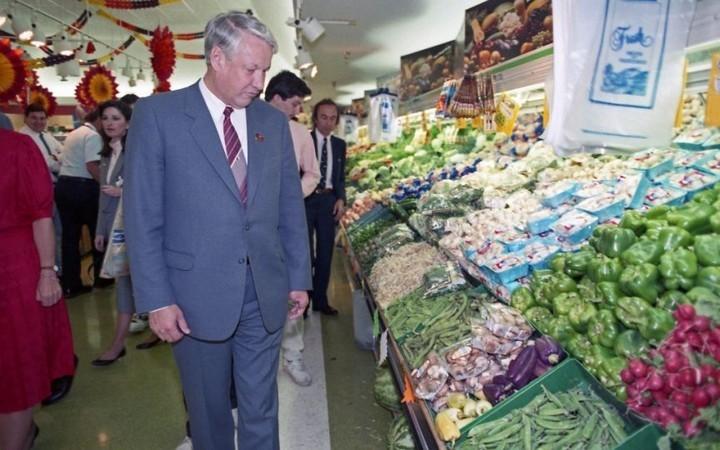 Как Ельцин впервые в жизни в американском супермаркете побывал (2)