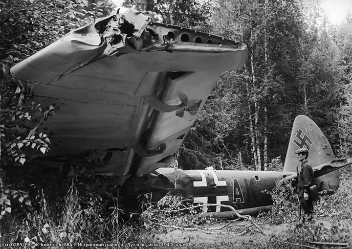 Немецкий Junkers Ju 88 в Москве (2)