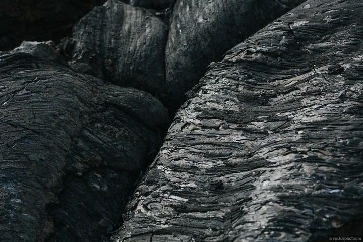 Лавовый поток вулкана Толбачик, гора Камень и Ключевская сопка (5)