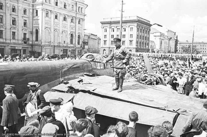 Немецкий Junkers Ju 88 в Москве (7)