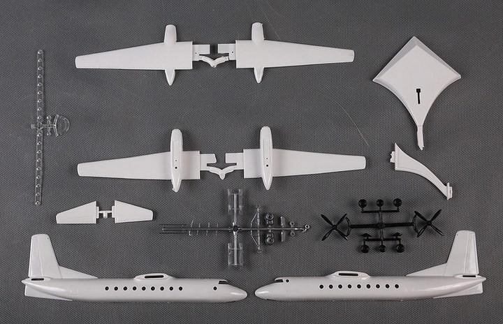 ГэДээРовские сборные модели самолётов (9)