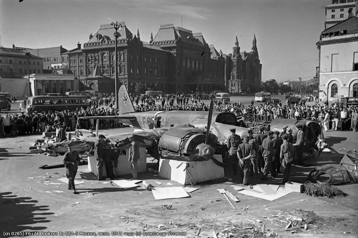 Немецкий Junkers Ju 88 в Москве (10)