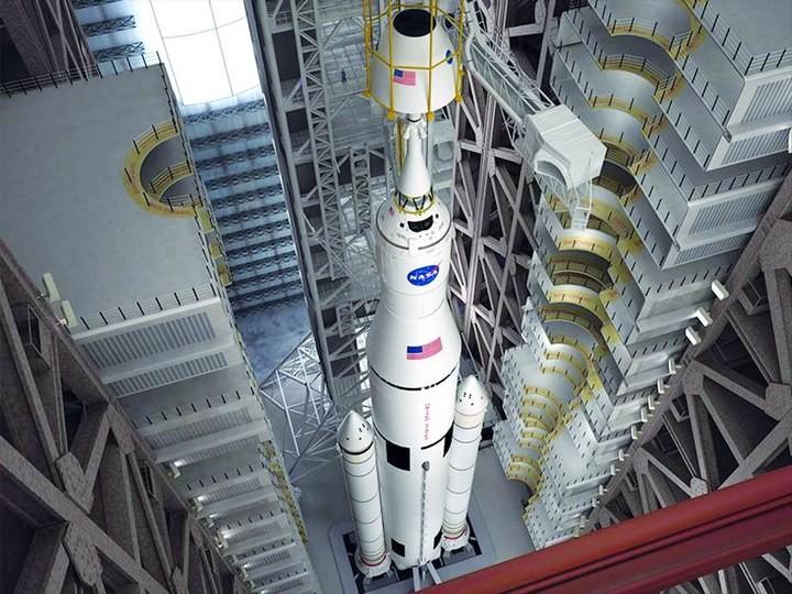 Самое большое одноэтажное здание в мире NASA Vehicle Assembly Building (14)