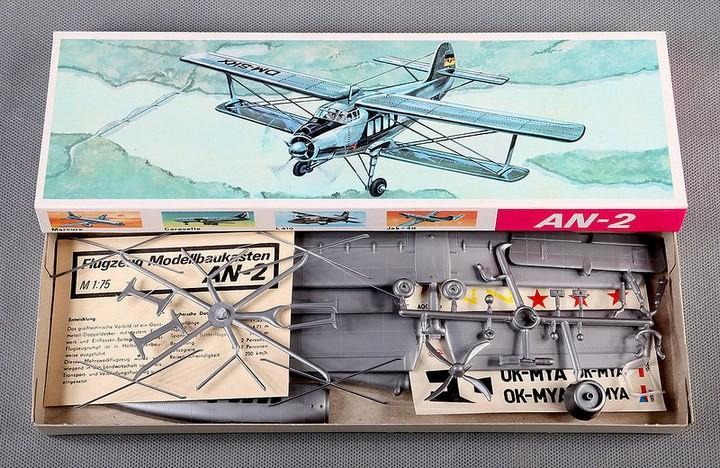 ГэДээРовские сборные модели самолётов (14)
