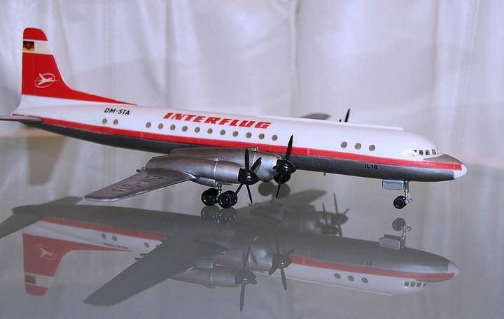 ГэДээРовские сборные модели самолётов (19)