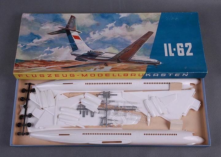 ГэДээРовские сборные модели самолётов (21)