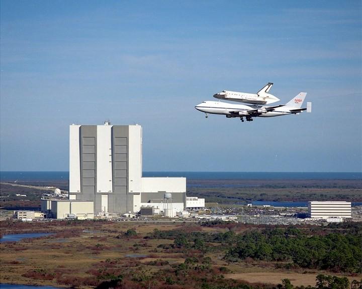 Самое большое одноэтажное здание в мире NASA Vehicle Assembly Building (23)