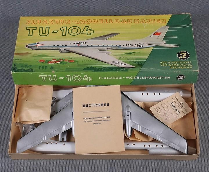 ГэДээРовские сборные модели самолётов (30)